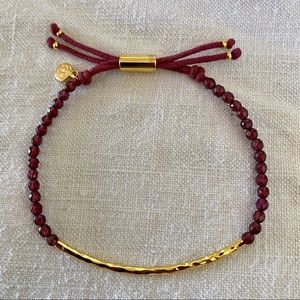 Gorjana Garnet Power Gemstone Bracelet Energy